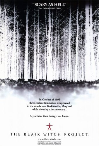Poster Project Witch Movie Blair - The Blair Witch Project POSTER Movie (27 x 40 Inches - 69cm x 102cm) (1999) (Style B)