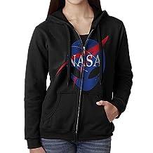 Cool Alien Space Alliance NASA Women's Zipper Hoodies Sweatshirt