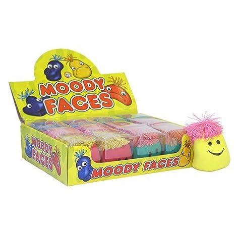 Squeeze Moody visage [jouet] PartyExplosion T29117HNB