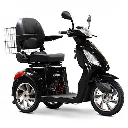 E-Wheels - EW-36 Full-Sized Scooter - 3-Wheel - Black
