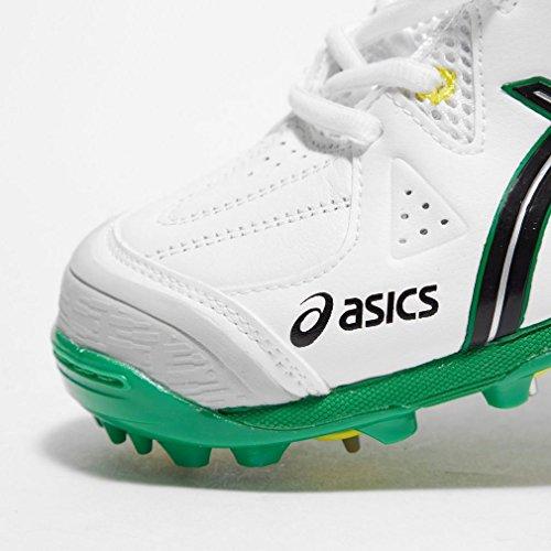 Asics Gel-advance 6 - Calzado de críquet Hombre Blanco