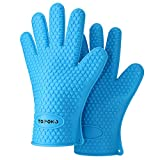 2018 Hot Sale BBQ Grilling Gloves Oven Mitts Gloves for Cooking Baking Barbecue