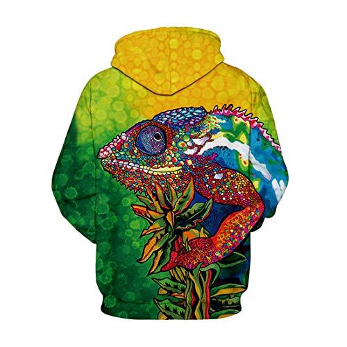Hoodies Unisexe Tête De Pullover Pochette Memoryee Réaliste Animal Loup Et Numérique Hoody Kangourou Sweatshirts Lion Imprimé Creative 3d Avec Cordon Style7 Graphique d0PYqw