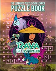 Raya And The Last Dragon Puzzles Book: An Interesting Way For Children To Play, Learn And Improve Their Observation Skill.