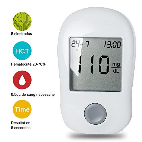Enshy-Blood-Glucose-monitoring-System-Blood-Sugar-Test-Meter-Kit-With-Strips-Lancets-Case