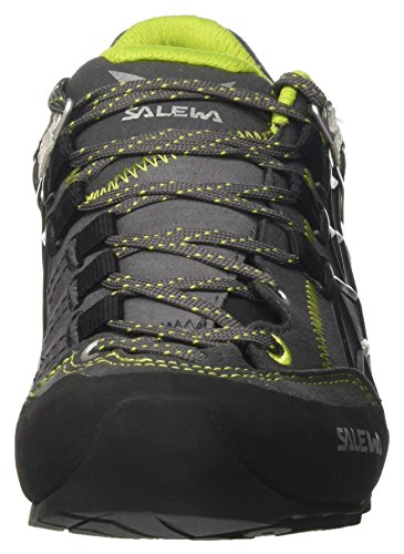 SALEWA Un Wildfire Pro, Zapatilla de Velcro Unisex Adulto Multicolor (Carbon/green)