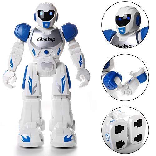 Glantop Remote Control RC Robots, Interactive Walking Singing Dancing Smart Programmable Robotics for Kids Boys Girls - Best Gift by Glantop (Image #2)