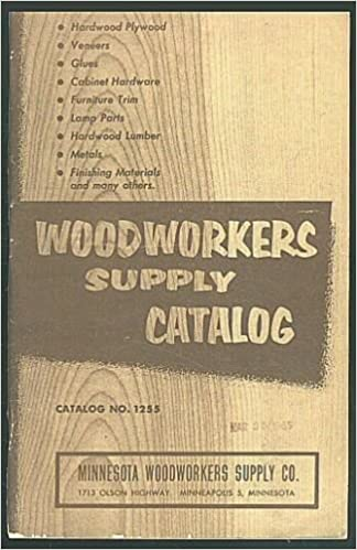 Woodworkers Supply Catalog No 1255 Minnesota Woodworkers Supply