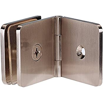 coastal shower doors c4400ad15n paragon adjustable glasstowall clamp