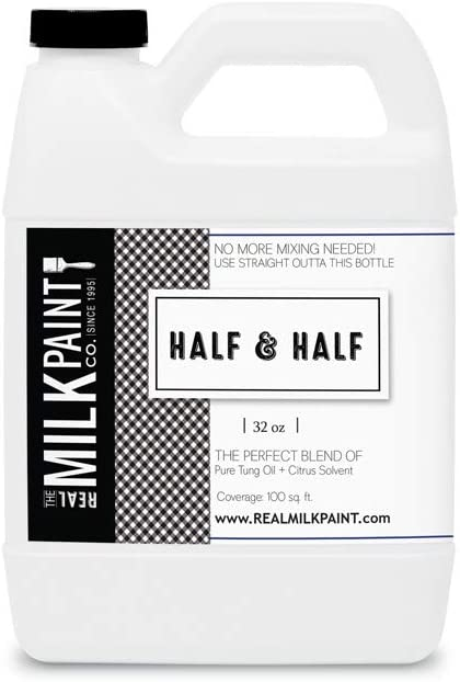 Half and Half 32 Ounce (Pure Tung Oil and Citrus Solvent)