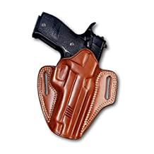 LEATHER PANCAKE (OWB) HOLSTER OPEN TOP FOR SIG SAUER P226 X FIVE (PLEASE CHOOSE YOUR HAND DRAW)