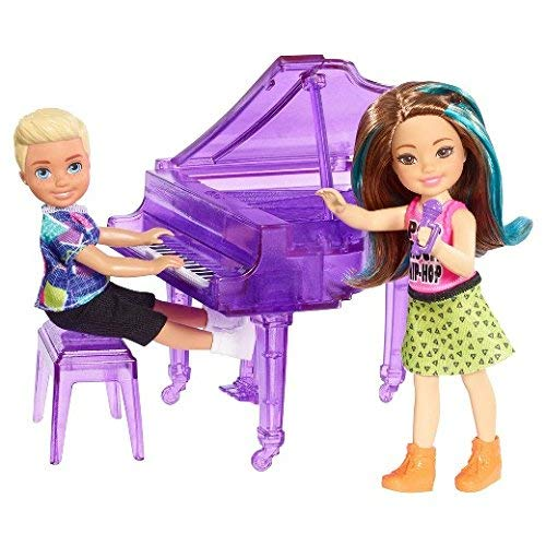 - Barbie and the Rockers - Concert Fun! - Chelsea Dolls + Piano