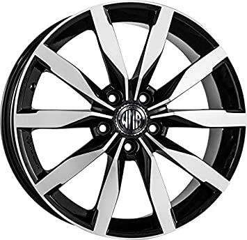 F893 BD 1 alloy wheel similar model DIJON 7J 17 5X100 ET35 57,1 AUDI A1 A3 8L SEAT IBIZA VOLKSWAGEN POLO GOLF 4 ITALY: Amazon.co.uk: Car & Motorbike