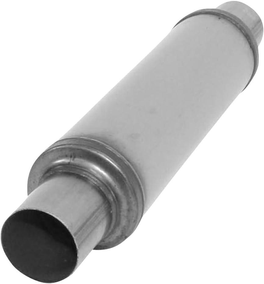 """Performance Universal 2.5/""""-4/"""" Round-14/"""" Body Stainless Steel Muffler Fiberglass"""