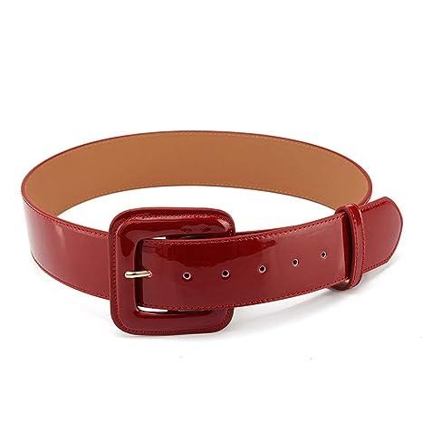 AISIBABY Cinturón de Charol de Moda Falda Decorativa con cinturón ...