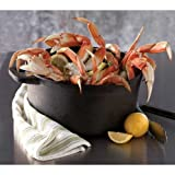 Trident Seafoods Dungeness Cooked Frozen Crab Sections Cluster, 10 Pound -- 1 each.