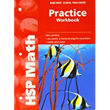 Harcourt School Publishers Math: Practice Workbook Student Edition Grade 4