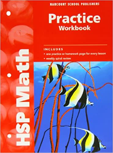HSP Math Practice Workbook Grade 4 HARCOURT SCHOOL