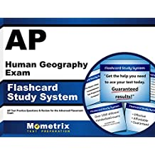 AP Human Geography Exam Flashcard Study System: AP Test Practice Questions & Review for the Advanced Placement...