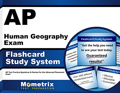 AP Human Geography Exam Flashcard Study System: AP Test Practice Questions & Review for the Advanced Placement Exam (Cards)