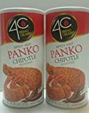 4C Spicy Hot Chipotle Panko Bread Crumbs 2 Pack-8 oz EACH