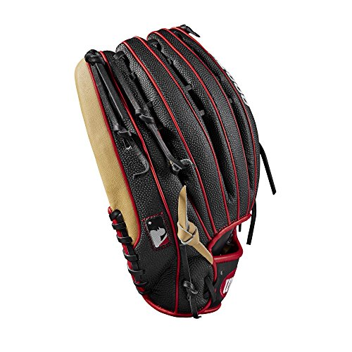 """Wilson 2018 A2000 Ot6 Ss Outfield Gloves - Right Hand Throw Blondeblackred, 12.75"""""""