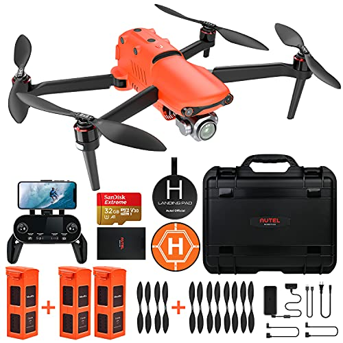 Autel Robotics EVO 2 Pro Drone 6K HDR Video for Professionals Rugged Bundle with $498 Value Accessories Kit (2021 Newest…