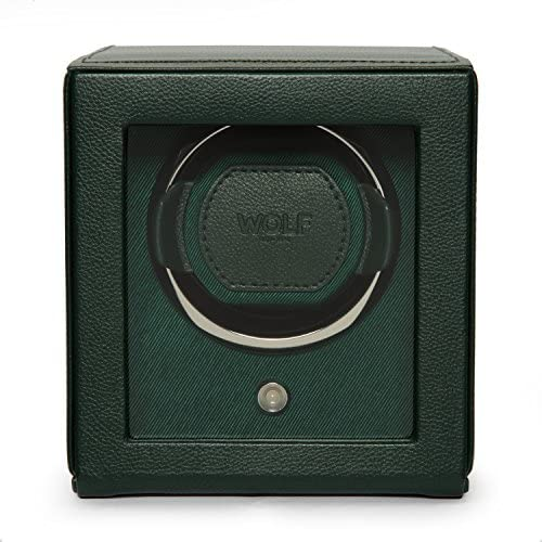 Cub Single Watch Winder with Cover by means of Wolf