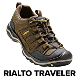 KEEN Men's Rialto Traveler Shoe, Brown, 9.5 M US