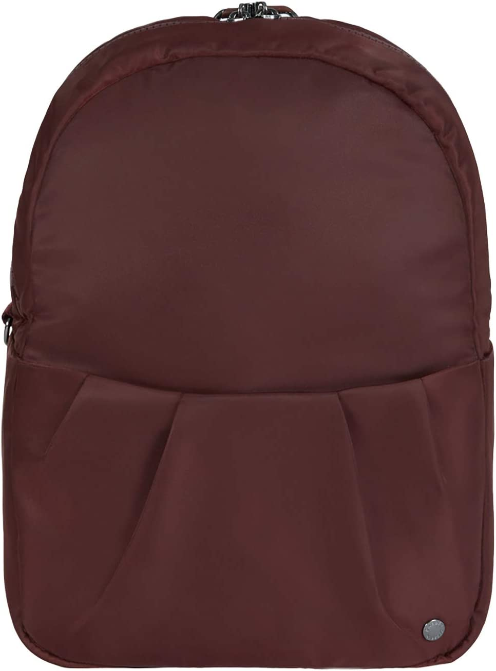 "PacSafe Women's Citysafe CX Anti Theft Convertible Backpack-Fits 10"" Tablet, Merlot, 8 Liter"
