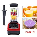 110V Commercial Countertop Smoothies Blender with