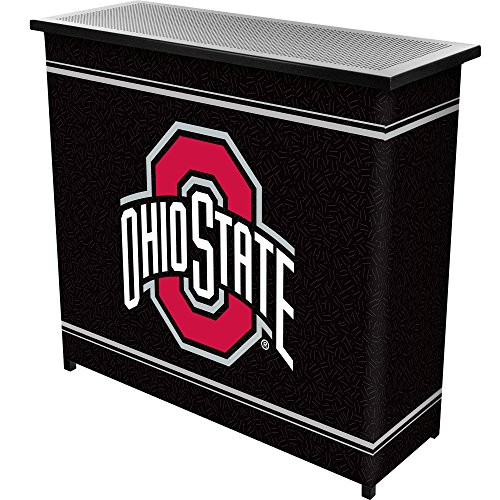 Price comparison product image NCAA Ohio State University Two Shelf Portable Bar with Case