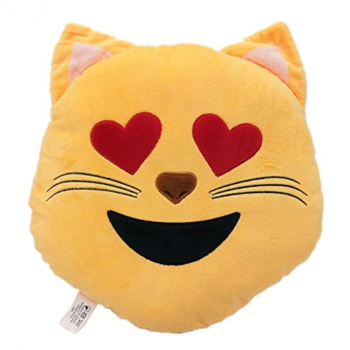 Emoji Cat Face Pillows
