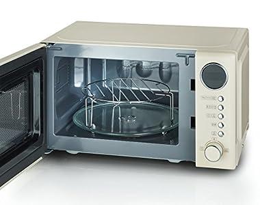Retro Kühlschrank Severin : Severin mw 7892 retro mikrowelle mit grillfunktion 2 in 1 36 cm