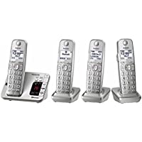 Panasonic Link2Cell Bluetooth Cordless Answering Machine with 4 Handsets