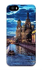 iPhone 5 Case, Personalized Custom Hard 3D Russia Durable Case Cover for iPhone 5 5S by ruishername