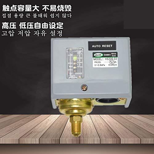 Pressure Steam Boiler - Fevas DANHI steam Boiler Pressure Switch Adjustable Controller Mechanical Generator HS203 HS206 HS210 HS220 HS230 HS230-2 - (Color: HS203)