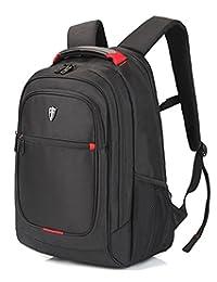 "Victoriatourist V6019 Laptop Backpack College Rucksack Business Travel Hiking Daypack Fits Macbook Pro/Most 15"" Laptops, Black"