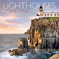 Lighthouses Of The World 2016 Square 12x12 Wall Calendar