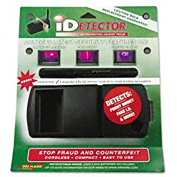 Dri Mark UVD549 Dri Mark iDetector Counterfeit Currency And ID Detector With Ultraviolet Light