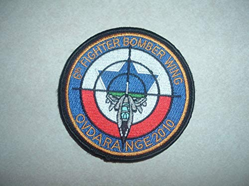 Patch 6TH Fighter Bomber Wing Israel Italy AIR Force Rare OVDA Range 2010 Hook L
