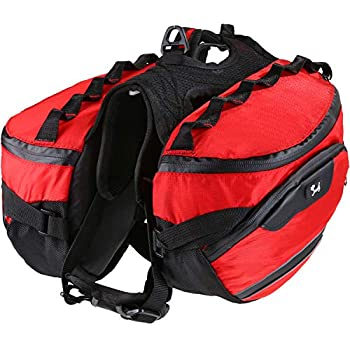 Amazon Com Pettomdog Backpack Saddle Bag Adjustable Pack