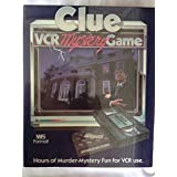 Clue. VCR Mystery Game