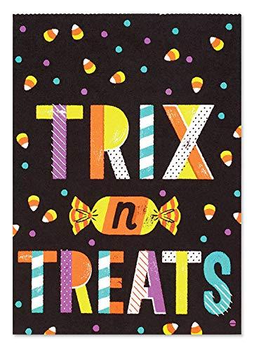 Halloween Treat Bags 5x7 24pk w 24 Gift Tags - Trix n Treats