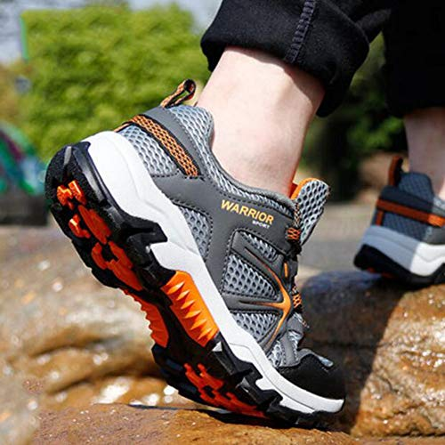 5 UK6 Automne Chaussures pour Grey CN40 Size Été Couleur Respirant randonnée Hommes Skid Voyage Mesh Chaussures de FH décontractées Chaussures Chaussures extérieur EU39 Sneakers q4w6BxS14A