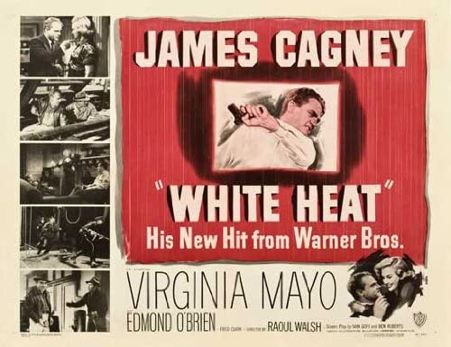 Amazon.com: White Heat Movie Poster (22 x 28 Inches - 56cm x 72cm) (1949)  Half Sheet -(James Cagney)(Virginia Mayo)(Edmond O'Brien)(Margaret  Wycherly)(Steve Cochran)(John Archer): Prints: Posters & Prints