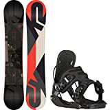snowboard 155 package - K2 Standard 155cm Mens Snowboard + Flow Alpha Bindings - Fits US Mens Boots Sized: 8,9,10