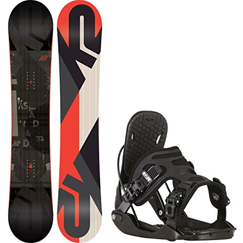 152 cm mens snowboard package - 2