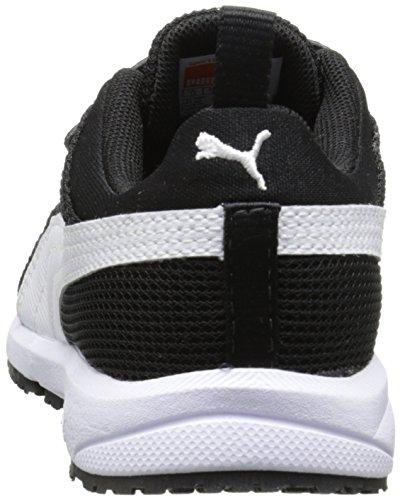 Carson blanco Puma Runner Kids Zapatillas V Negro UFRwq4F