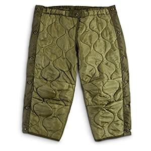 Amazon.com: Military Field Pant Liner Cold Weather LARGE SHORT REG ... : quilted trousers - Adamdwight.com